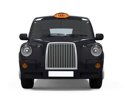 Sticker Noir London Taxi