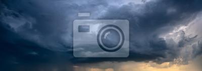 Sticker nuage d'orage s'approchant