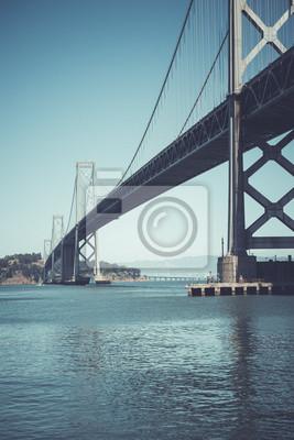 Oakland Bay Bridge, San Francisco, Californie, États-Unis.