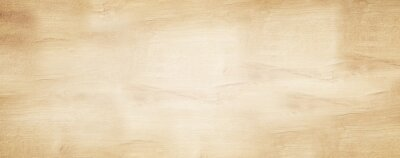 Sticker old brown rustic light bright wooden maple texture - wood background panorama banner long