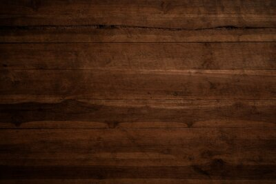 Sticker Old grunge dark textured wooden background,The surface of the old brown wood texture