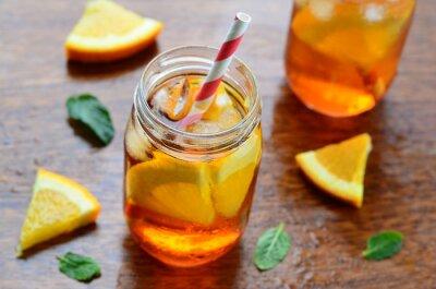 Sticker Orange boisson froide