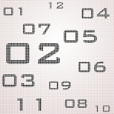 orologio reticosfumato