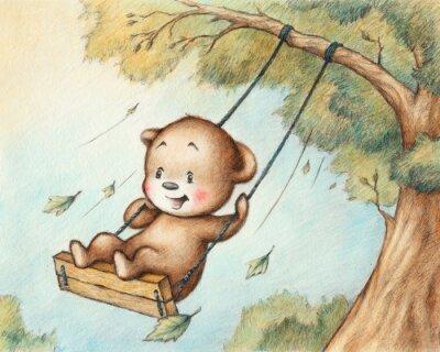 Sticker Ourson de Swinging