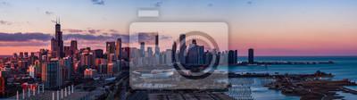Sticker Panorama de Chicago