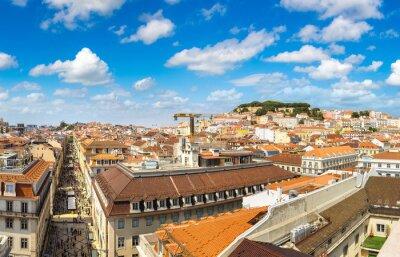 Panoramic view of Lisbon