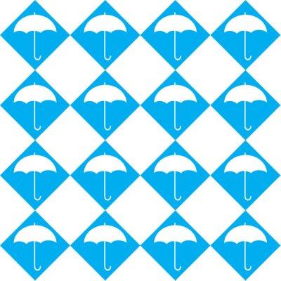 Sticker Parapluie Blanc