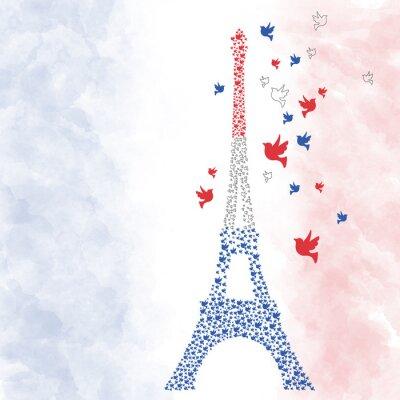 Sticker Paris Tour Eiffel