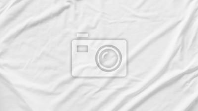Sticker Pattern texture  crumpled white fabric background