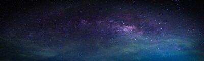Sticker Paysage avec la Voie Lactée.