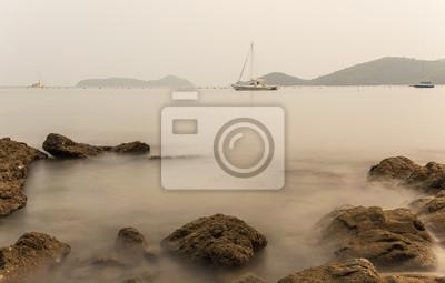 Pendant Seascape Sunrise. Belle marin naturel, Lam Panwa Ph