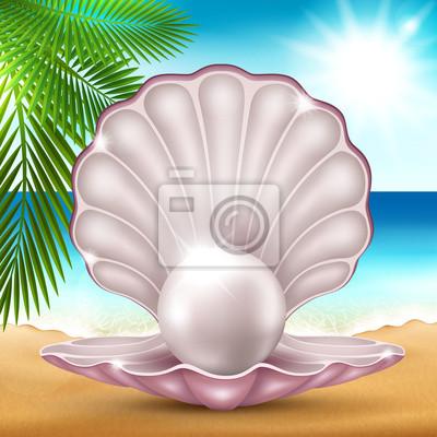 Perle sur le sable