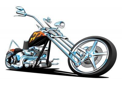 Sticker Personnalisé American Chopper Motorcycle