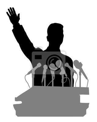 personne devant un microphone