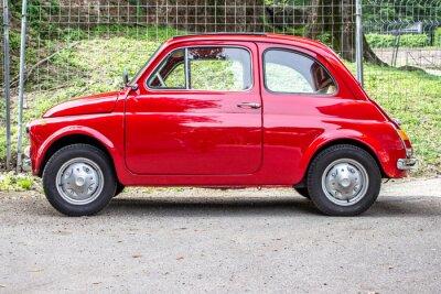 Sticker Petite voiture / petite voiture rouge
