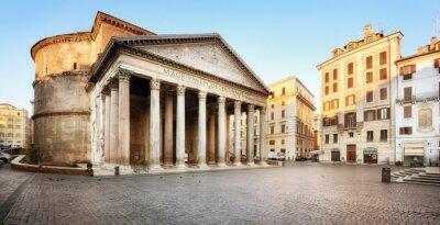 Sticker Piazza della Rotonda e il Panthéon, Roma