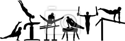 Pictogramme de gymnastique rythmique