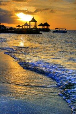 Pier à Montego Bay, en Jamaïque, Caraïbes