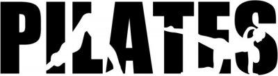 Pilates mot avec des découpes