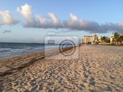 Plage du matin en Floride