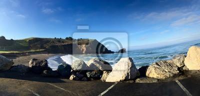 Plage et falaise à Pacifica, San Francisco
