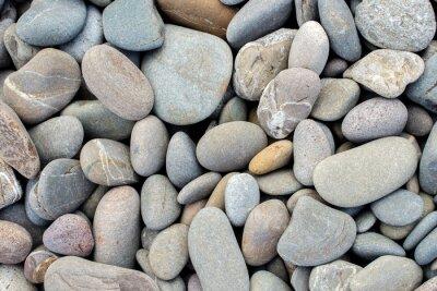 Sticker Plage, pierres, fond