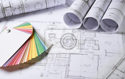 Sticker Plan de l'Architecture