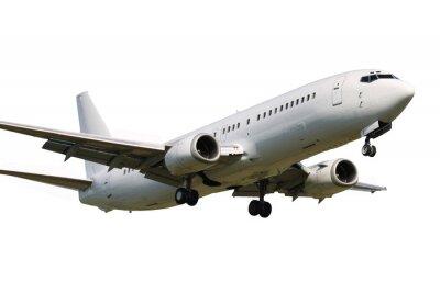 Sticker Plane Landing