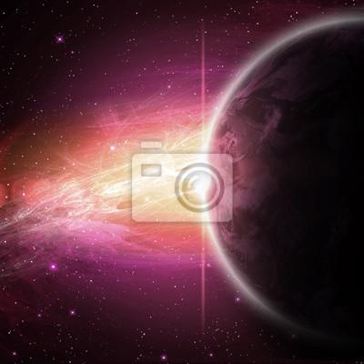 planétaires dans l'espace