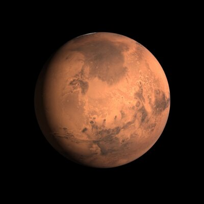 Sticker Planète Mars