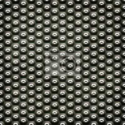 plaque de métal avec des points