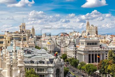 Plaza de Cibeles à Madrid