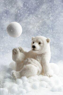Sticker Polar Bear Décoration