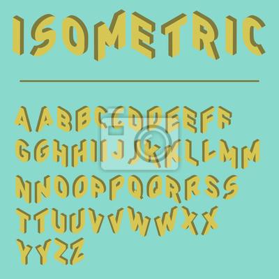 Sticker Police isométrique, caractère rétro en isométrie