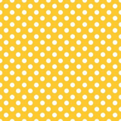 Sticker Polka dots fond de modèle transparent.