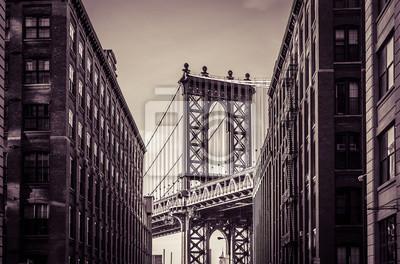 Sticker Pont de Manhattan