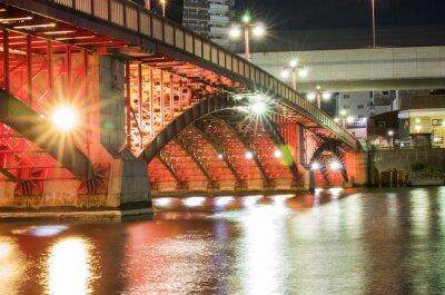 Sticker Pont de nuit de Tokyo