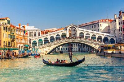 Sticker Pont du Rialto à Venise