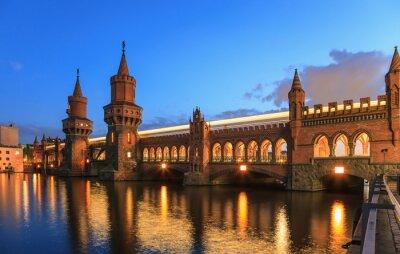 Sticker Pont Oberbaum, Berlin, Allemagne