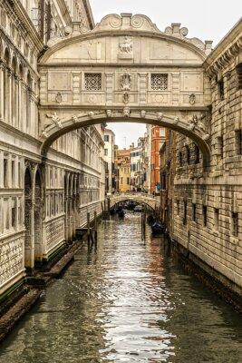 Sticker Ponte dei Sospiri, Venise, Italie