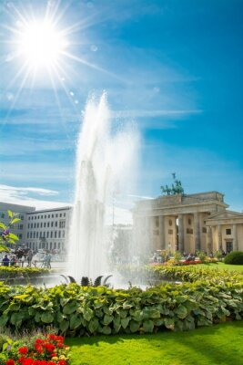 Sticker Porte de Brandebourg, Porte de Brandebourg, Brandenburger Tor, Berlin, Allemagne