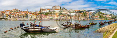 Porto et vieux bateaux traditionnels