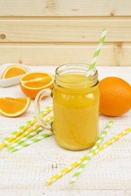 Sticker Pot de jus d'orange
