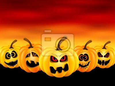 Potirons pour Halloween