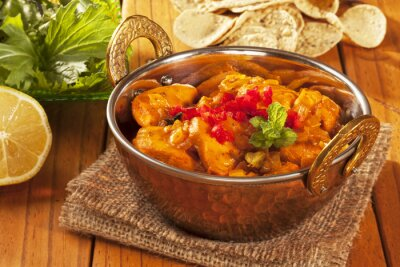 Sticker Poulet au curry