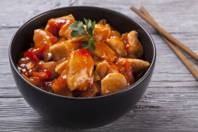 Sticker Poulet chinois sauce aigre-douce