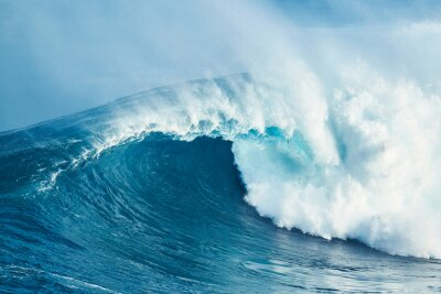 Sticker Puissant vague océanique