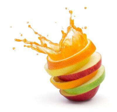 Sticker punch aux fruits