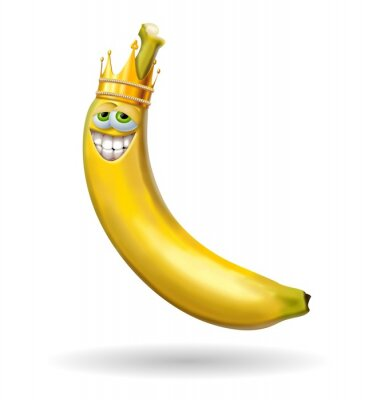 Sticker re banane