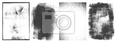 Sticker Rectangular retro frames set